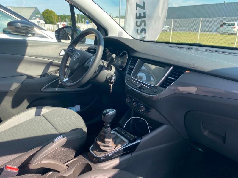 Opel Crossland X 1.5 D 102ch Elegance Euro 6d-T Gris occasion à Vert-Saint-Denis - photo n°8