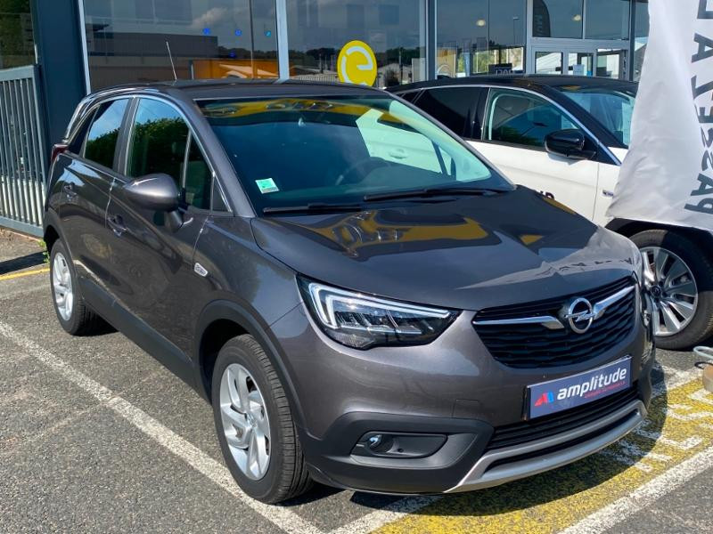 Opel Crossland X 1.5 D 102ch Elegance Euro 6d-T Gris occasion à Vert-Saint-Denis