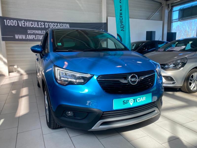 Opel Crossland X 1.5 D 102ch Elegance Euro 6d-T Bleu occasion à Lognes - photo n°2