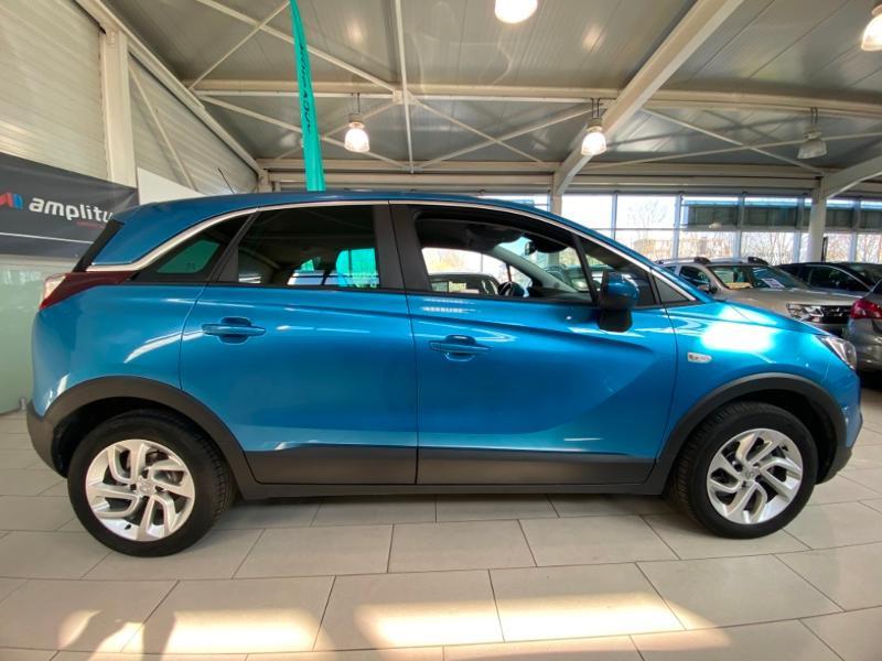 Opel Crossland X 1.5 D 102ch Elegance Euro 6d-T Bleu occasion à Lognes - photo n°4