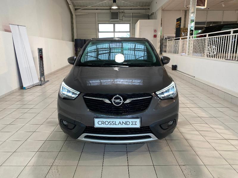 Opel Crossland X 1.5 D 102ch Elegance Euro 6d-T Gris occasion à Lognes - photo n°3