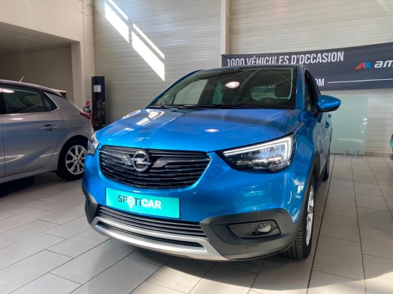 Opel Crossland X 1.5 D 102ch Elegance Euro 6d-T Bleu occasion à Lognes