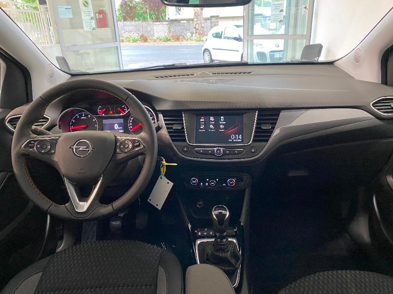 Opel Crossland X 1.5 D 102ch Elegance Euro 6d-T Gris occasion à Lognes - photo n°9