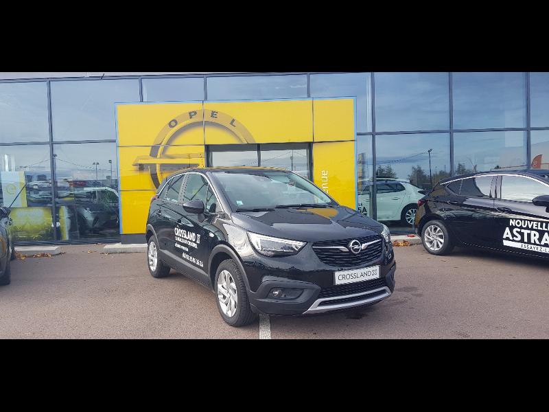 Opel Crossland X 1.5 D 102ch Elegance Euro 6d-T Noir occasion à Barberey-Saint-Sulpice