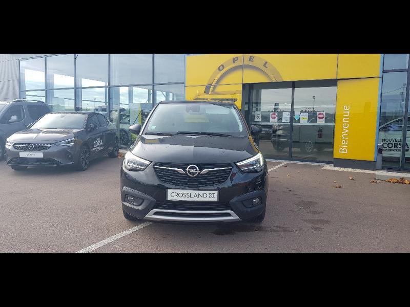 Opel Crossland X 1.5 D 102ch Elegance Euro 6d-T Noir occasion à Barberey-Saint-Sulpice - photo n°4