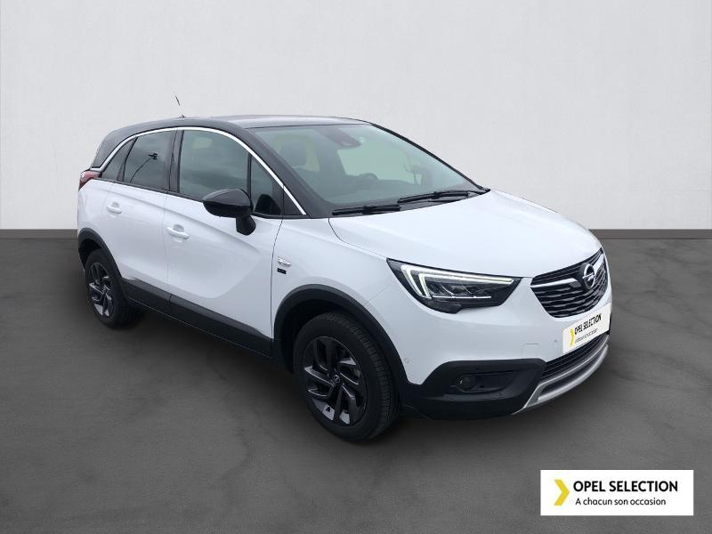 Opel Crossland X 1.5 D 102ch Opel 2020 Euro 6d-T Blanc occasion à CASTRES - photo n°3