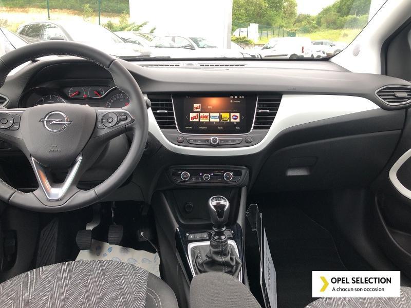Opel Crossland X 1.5 D 102ch Opel 2020 Euro 6d-T Blanc occasion à CASTRES - photo n°8