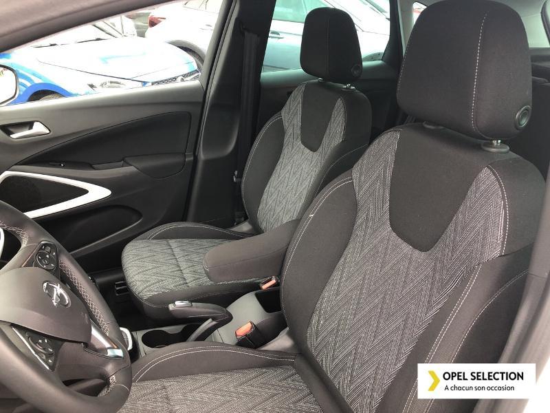 Opel Crossland X 1.5 D 102ch Opel 2020 Euro 6d-T Blanc occasion à CASTRES - photo n°9