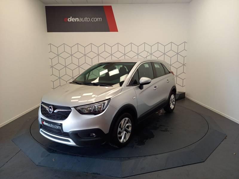 Opel Crossland X 1.5 D 120 ch BVA6 Innovation Argent occasion à Boé