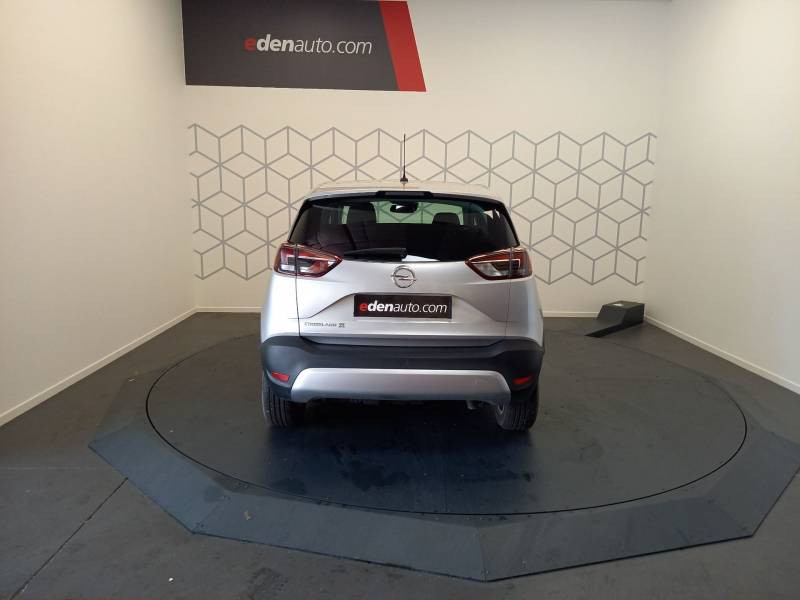 Opel Crossland X 1.5 D 120 ch BVA6 Innovation Argent occasion à Boé - photo n°4