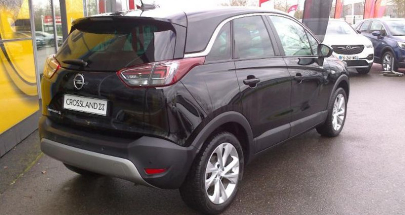 Opel Crossland X BUSINESS 1.2 Turbo 110ch S/S BVM6 (2020A) Noir occasion à vert-saint-denis - photo n°5