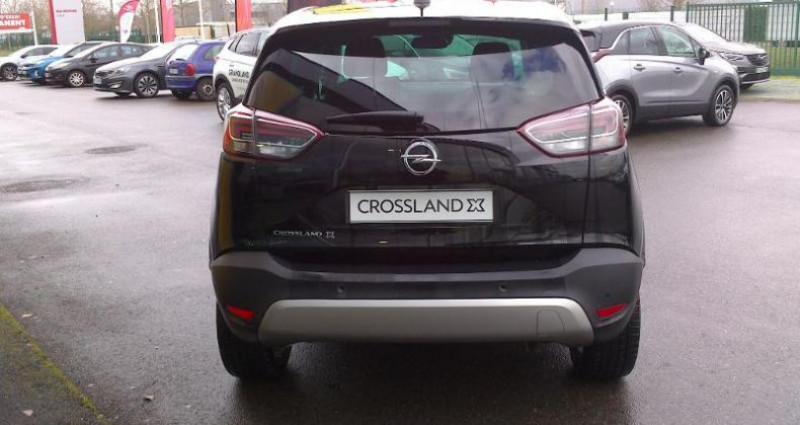 Opel Crossland X BUSINESS 1.2 Turbo 110ch S/S BVM6 (2020A) Noir occasion à vert-saint-denis - photo n°6