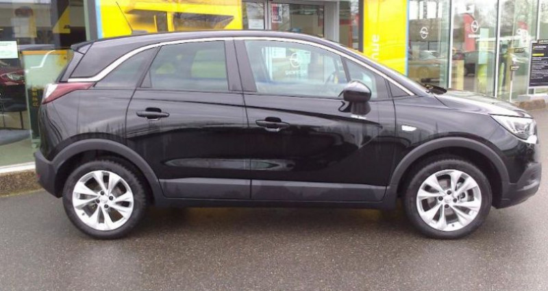 Opel Crossland X BUSINESS 1.2 Turbo 110ch S/S BVM6 (2020A) Noir occasion à vert-saint-denis - photo n°3