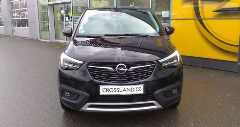 Opel Crossland X BUSINESS 1.2 Turbo 110ch S/S BVM6 (2020A) Noir occasion à vert-saint-denis - photo n°2