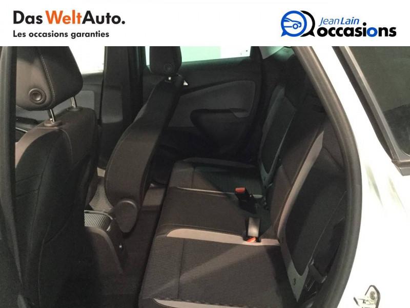 Opel Crossland X Crossland X 1.2 Turbo 130 ch BVA6 Type Exclusive 5p Blanc occasion à Bellegarde-sur-Valserine - photo n°17