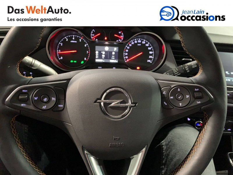 Opel Crossland X Crossland X 1.2 Turbo 130 ch BVA6 Type Exclusive 5p Bleu occasion à Seynod - photo n°12