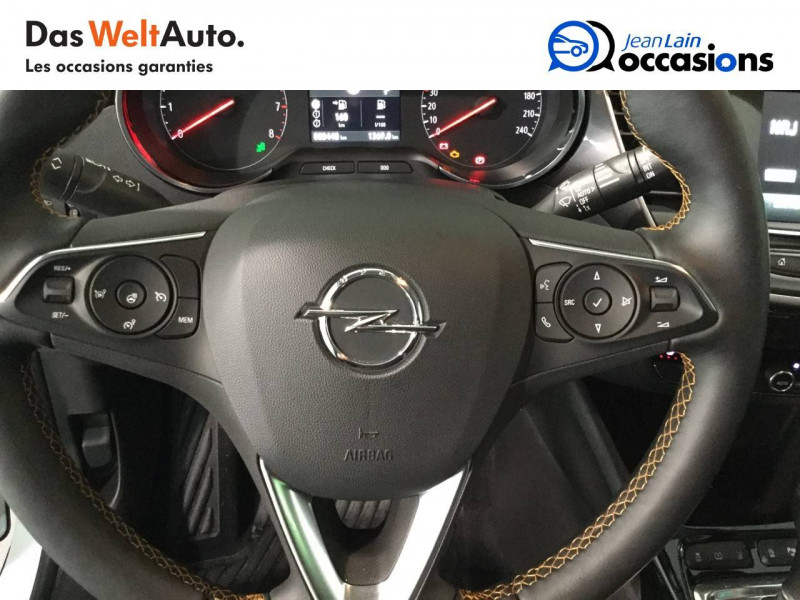 Opel Crossland X Crossland X 1.2 Turbo 130 ch BVA6 Type Exclusive 5p Blanc occasion à Bellegarde-sur-Valserine - photo n°12