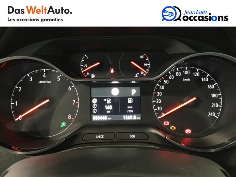 Opel Crossland X Crossland X 1.2 Turbo 130 ch BVA6 Type Exclusive 5p Blanc occasion à Bellegarde-sur-Valserine - photo n°16