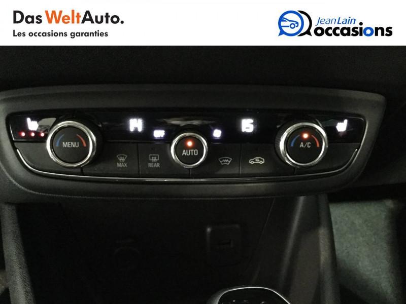 Opel Crossland X Crossland X 1.2 Turbo 130 ch BVA6 Type Exclusive 5p Blanc occasion à Bellegarde-sur-Valserine - photo n°14