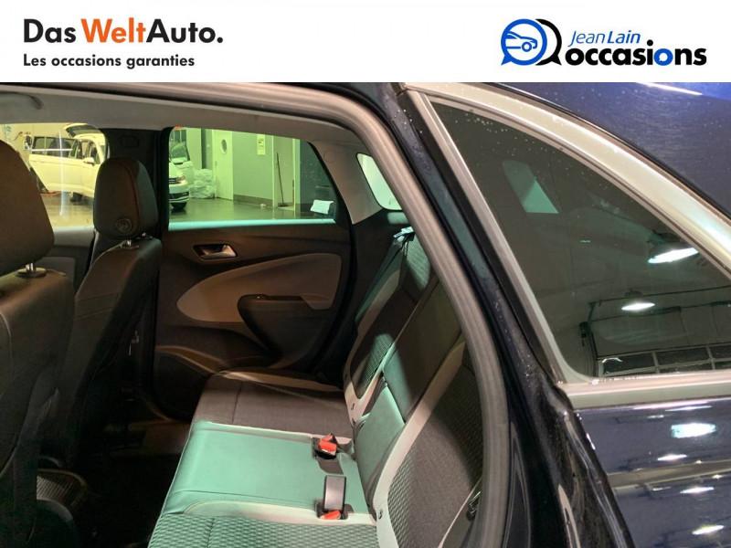 Opel Crossland X Crossland X 1.2 Turbo 130 ch BVA6 Type Exclusive 5p Bleu occasion à Seynod - photo n°17