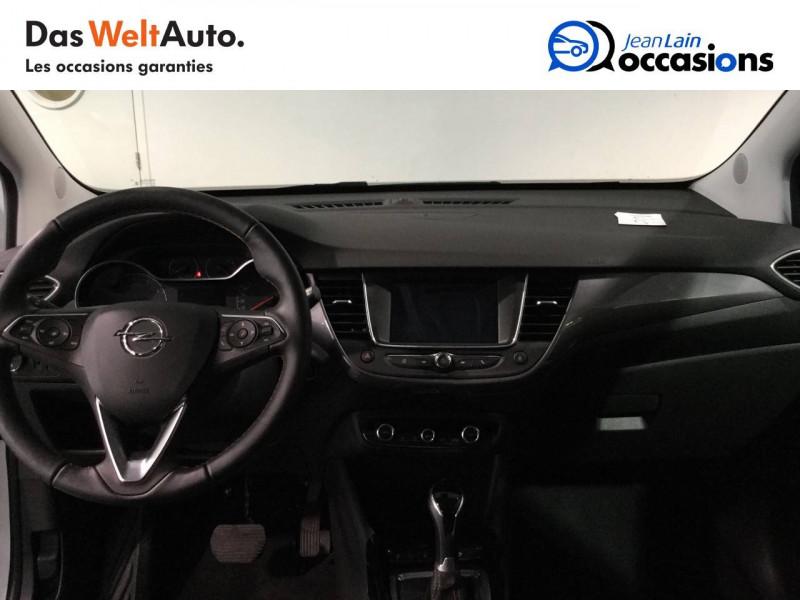 Opel Crossland X Crossland X 1.2 Turbo 130 ch BVA6 Type Exclusive 5p Blanc occasion à Bellegarde-sur-Valserine - photo n°18