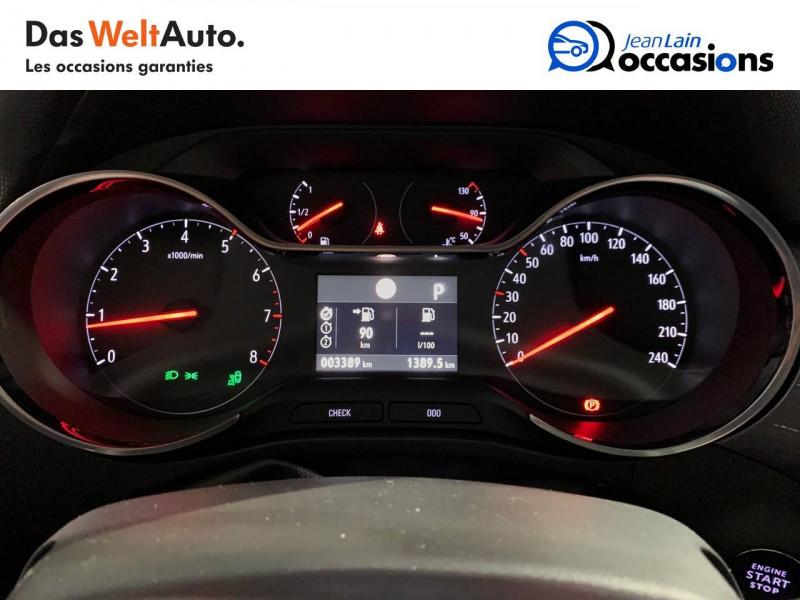 Opel Crossland X Crossland X 1.2 Turbo 130 ch BVA6 Type Exclusive 5p Bleu occasion à Seynod - photo n°16