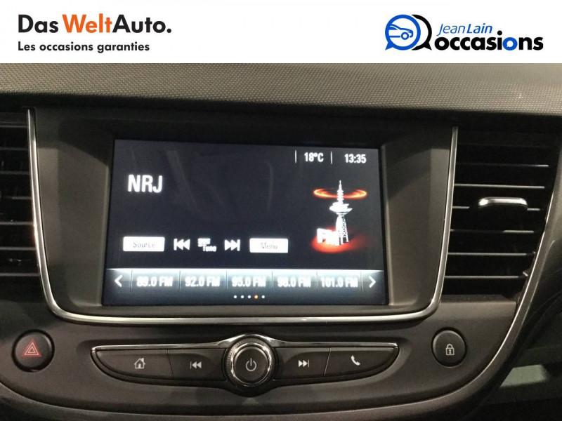 Opel Crossland X Crossland X 1.2 Turbo 130 ch BVA6 Type Exclusive 5p Blanc occasion à Bellegarde-sur-Valserine - photo n°15