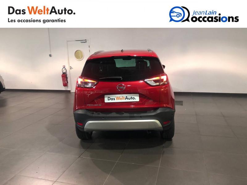 Opel Crossland X Crossland X 1.2 Turbo 130 ch BVA6 Type Exclusive 5p Rouge occasion à Seynod - photo n°6