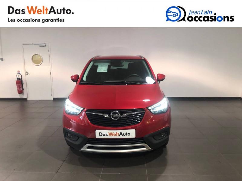 Opel Crossland X Crossland X 1.2 Turbo 130 ch BVA6 Type Exclusive 5p Rouge occasion à Seynod - photo n°2