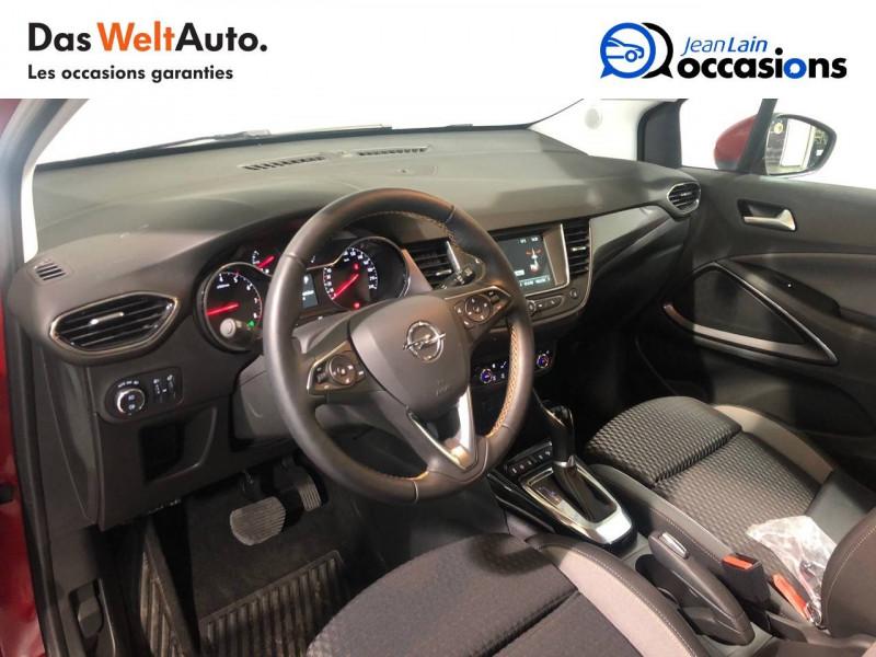 Opel Crossland X Crossland X 1.2 Turbo 130 ch BVA6 Type Exclusive 5p Rouge occasion à Seynod - photo n°11