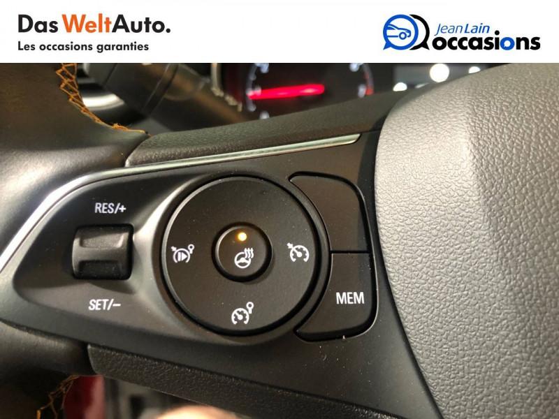 Opel Crossland X Crossland X 1.2 Turbo 130 ch BVA6 Type Exclusive 5p Rouge occasion à Seynod - photo n°12