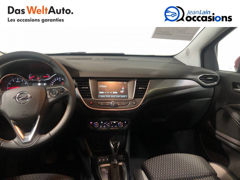 Opel Crossland X Crossland X 1.2 Turbo 130 ch BVA6 Type Exclusive 5p Rouge occasion à Seynod - photo n°18