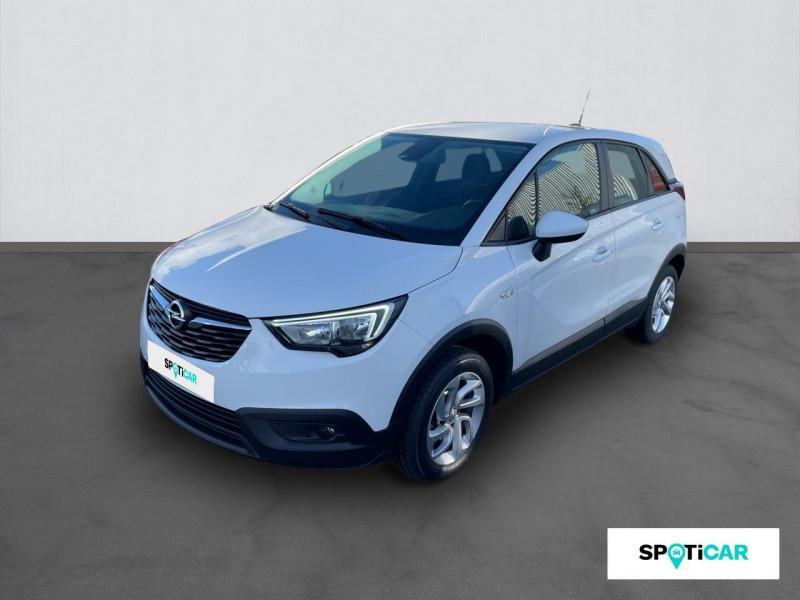Opel Crossland X CROSSLAND X EDITION 1.2 ECOTEC TURBO 110 BVM5 Blanc occasion à ONET LE CHATEAU