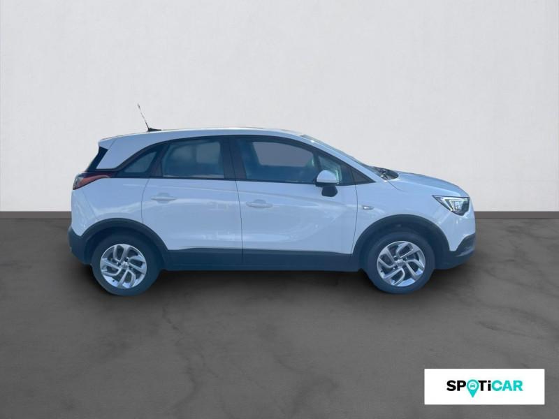 Opel Crossland X CROSSLAND X EDITION 1.2 ECOTEC TURBO 110 BVM5 Blanc occasion à ONET LE CHATEAU - photo n°4