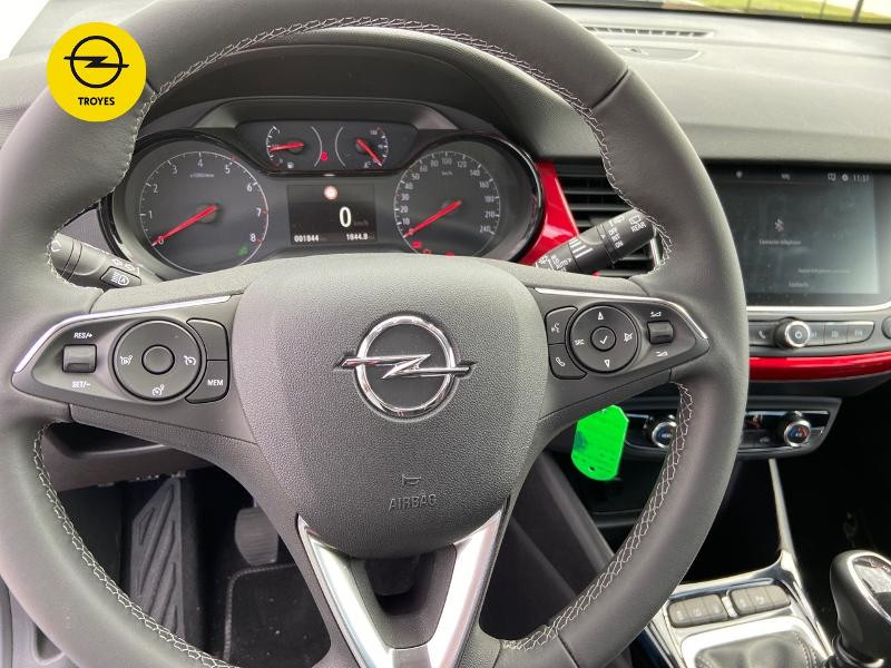 Opel Crossland 1.2 Turbo 110ch GS Line Blanc occasion à Barberey-Saint-Sulpice - photo n°18
