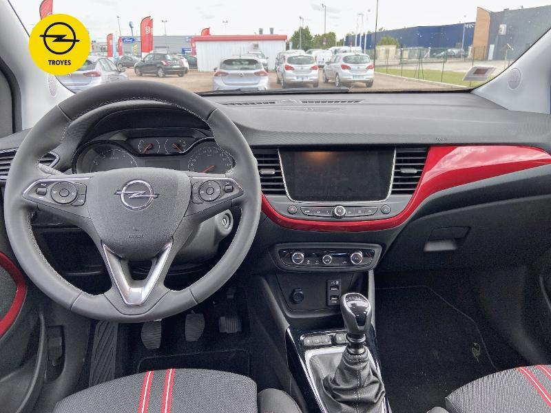 Opel Crossland 1.2 Turbo 110ch GS Line Blanc occasion à Barberey-Saint-Sulpice - photo n°8