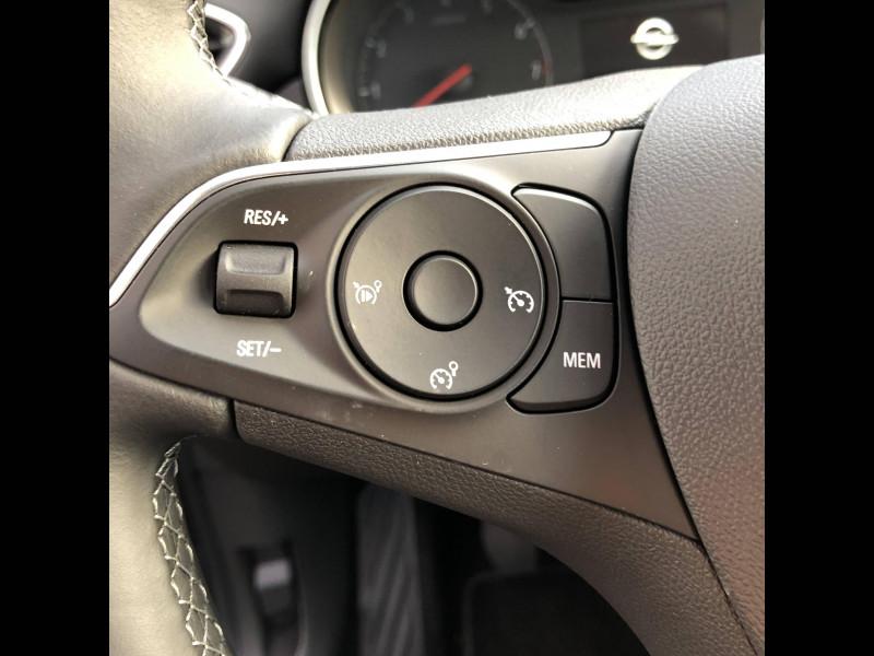 Opel Crossland Crossland 1.2 Turbo 110 ch Elegance 5p Gris occasion à Tulle - photo n°8