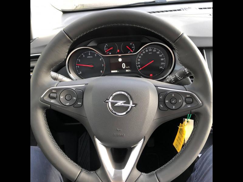 Opel Crossland Crossland 1.2 Turbo 110 ch Elegance 5p Gris occasion à Tulle - photo n°11
