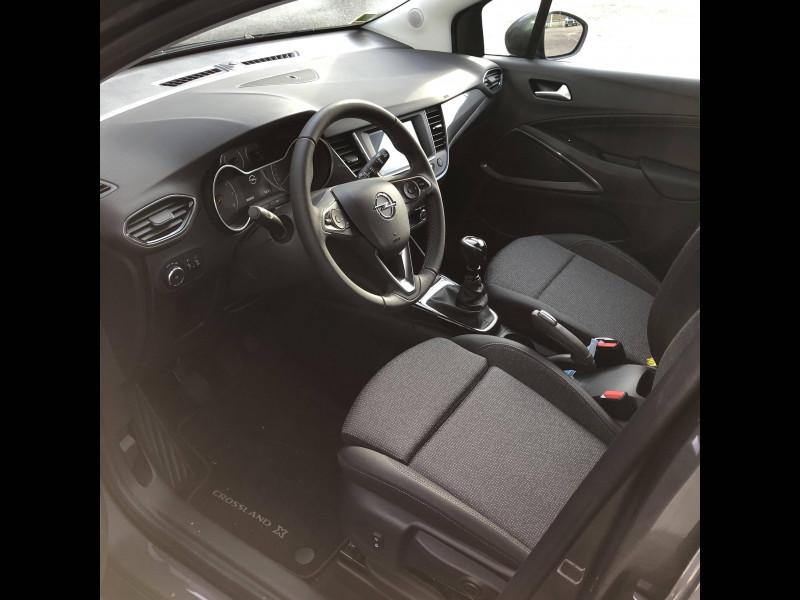 Opel Crossland Crossland 1.2 Turbo 110 ch Elegance 5p Gris occasion à Tulle - photo n°5