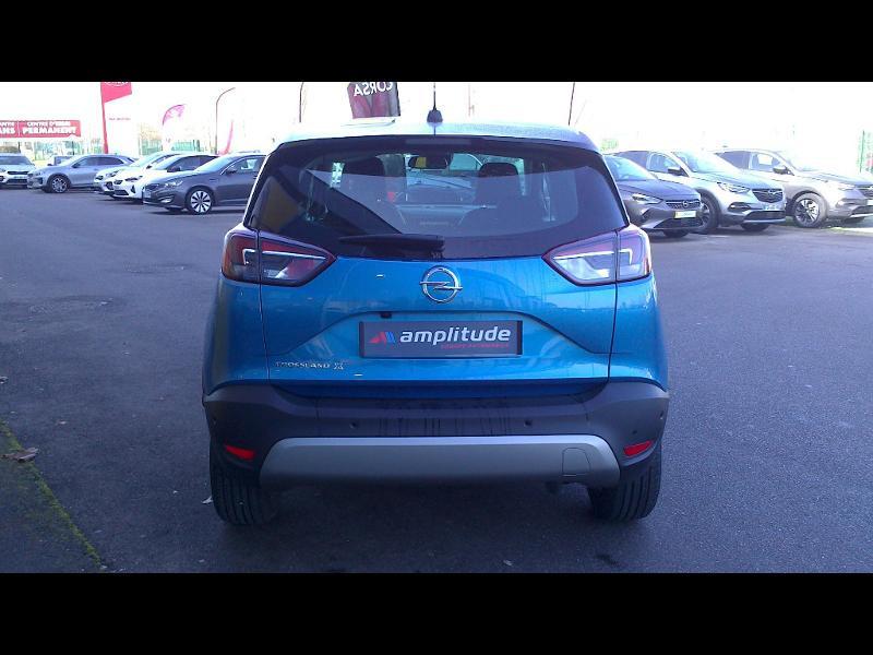 Opel Crossland X ELEGANCE 1.2 Turbo 130ch BVM6 (2020A) Bleu occasion à Vert-Saint-Denis - photo n°6