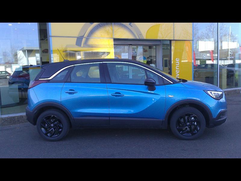 Opel Crossland X ELEGANCE 1.2 Turbo 130ch BVM6 (2020A) Bleu occasion à Vert-Saint-Denis - photo n°3