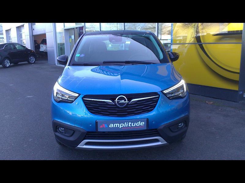 Opel Crossland X ELEGANCE 1.2 Turbo 130ch BVM6 (2020A) Bleu occasion à Vert-Saint-Denis - photo n°2