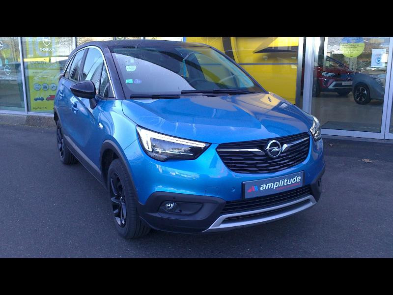 Opel Crossland X ELEGANCE 1.2 Turbo 130ch BVM6 (2020A) Bleu occasion à Vert-Saint-Denis