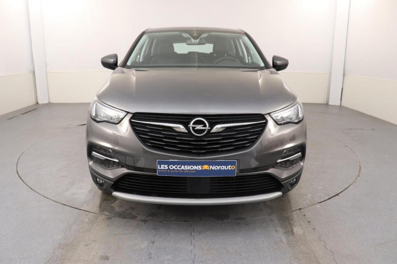 Opel Grandland X 1.2 Turbo 130 ch BVA8 Innovation Gris occasion à Aubière - photo n°2