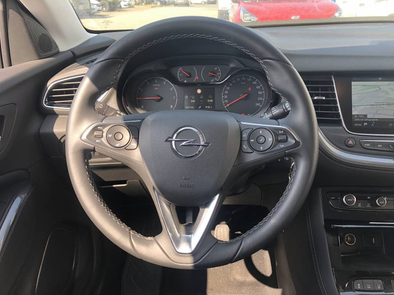 Opel Grandland X 1.2 Turbo 130 ch Design Line 120 ans Gris occasion à Tulle - photo n°7