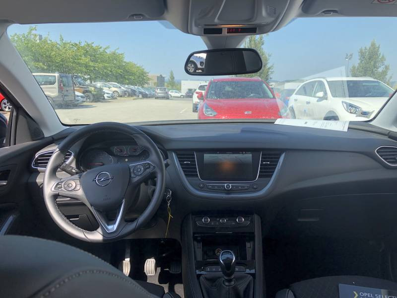 Opel Grandland X 1.2 Turbo 130 ch Design Line 120 ans Gris occasion à Tulle - photo n°6