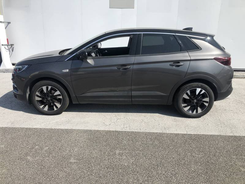 Opel Grandland X 1.2 Turbo 130 ch Design Line 120 ans Gris occasion à Tulle - photo n°2