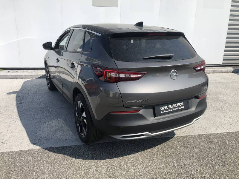 Opel Grandland X 1.2 Turbo 130 ch Design Line 120 ans Gris occasion à Tulle - photo n°3