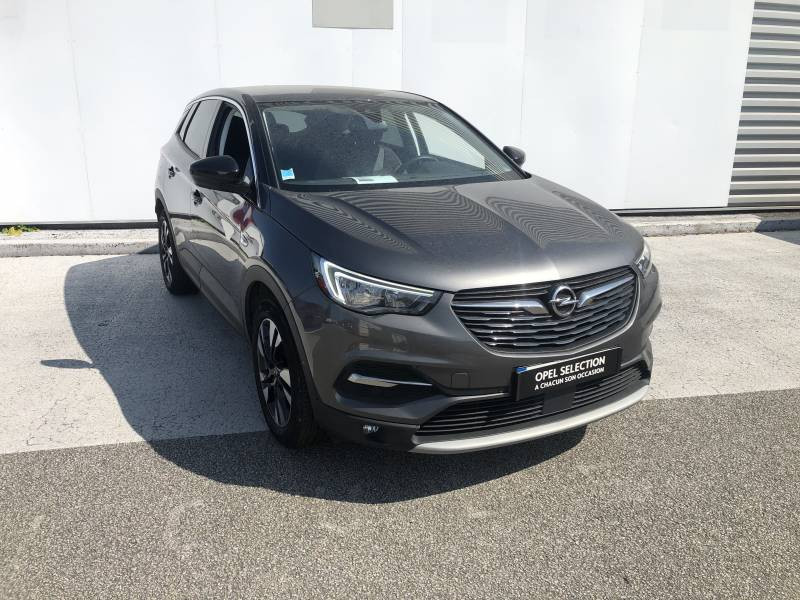 Opel Grandland X 1.2 Turbo 130 ch Design Line 120 ans Gris occasion à Tulle