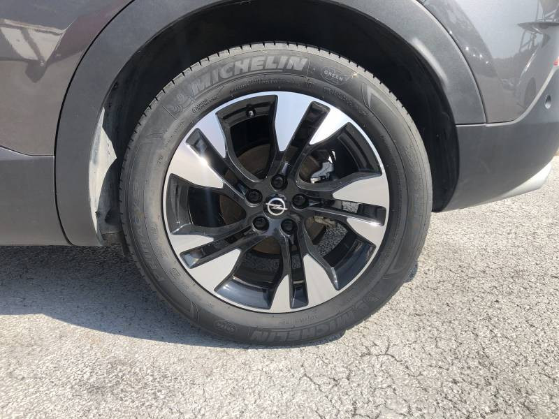 Opel Grandland X 1.2 Turbo 130 ch Design Line 120 ans Gris occasion à Tulle - photo n°4
